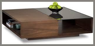 modern square coffee table. BDI - Xela 1140 Square Coffee Table Modern I