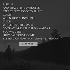 climb by leann clarke a k a the hunting mom women who hunt hunting inspiration just keep climbing