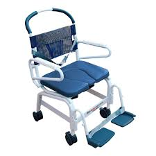 mor medical euro style rehab shower chair commode aluminum 400lbs cap 22 internal width