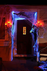 spooky lighting. spooky entrance halloween display flickr photo sharing lighting