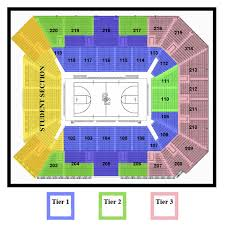 Lakers Seating Chart View Seating Diagram Galen Center