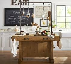 Rustic Industrial Kitchen Island with Pipe rustic-kitchen