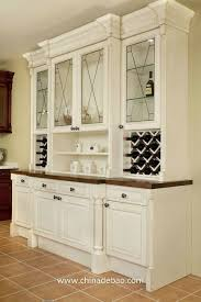 classic american style solid wood kitchen cabinet china mainland