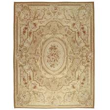 vintage chinese aubusson rug with french provincial style for