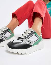 steve madden cur leather sneaker to enlarge