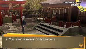 Persona 4 Vending Machine Impressive LOST IN THE FOG Thursday 4848 Queen Mob's Tea House