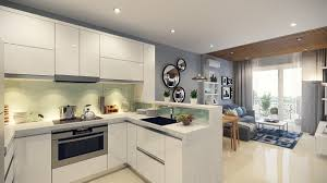 Blending Modern Kitchens With Living Spaces For Multifunctional Interior Design For Small Spaces Living Room And Kitchen
