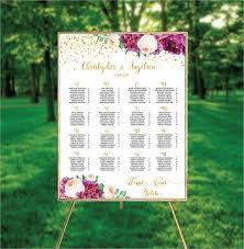 Wedding Seating Chart Template Seating Chart Wedding