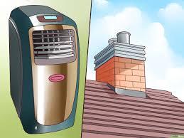 Eine Tragbare Klimaanlage Installieren Wikihow