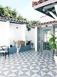 patio tile ideas best outdoor images on decks balcony and cement