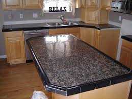 best tiled kitchen countertops