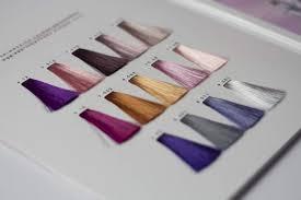 Nak Colour Chart Introducing Nak Hair Metallics The Nak Collective Nak Hair