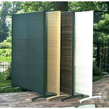 85 free standing outdoor privacy