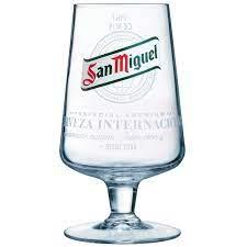 San Miguel Pint Glasses CE 20oz / 568ml
