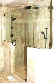 half wall shower no door with doors panels pony height google search half wall tile shower