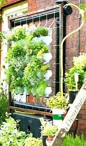 herb wall garden wall mounted herb garden wall herb planters full image for green wall garden