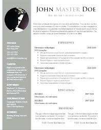 Resume Samples Free Download Word Resume Format For Free Download Wikirian Com