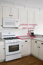 ana white 42 base blind corner cabinet momplex vanilla kitchen diy projects