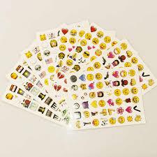 1PCS <b>sheet</b>(<b>48stickers</b> ) Cute <b>Lovely</b> 480 Die Cut Emoji Smile ...