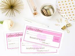 anniversary coupons love notes r tic love coupons printable anniversary notes wedding gift wedding notes pink gold printable coupons instant