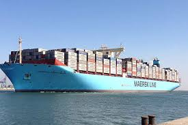 mv maersk mc kinney møller is curly the world s biggest container vessel