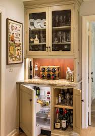 Kitchen Corner Bar 20 Small Home Bar Ideas And Space Savvy Designs