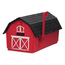 p9223g rural barn curbside mailbox
