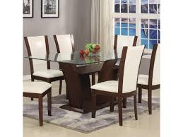white rectangular dining table. Belfort Essentials Camelia WhiteDining Table White Rectangular Dining