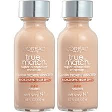 l oreal paris cosmetics true match super blendable foundation makeup soft ivory