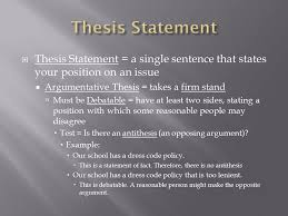 "eng composition i  variation of ""thesis and support"" essay  5  thesis"