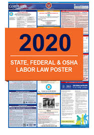Doctors Note For Work Law California 2019 2020 Labor Law Posters State Federal Osha In One