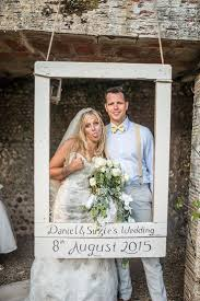personalised photo booth frame outdoor festival summer wedding
