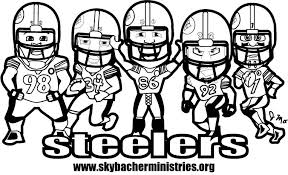 Small Picture Steelers Coloring Pages Skybacher Ministries Inc Bebo Pandco