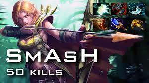 smash windranger 50 kills 7052 mmr dota 2 gameplay youtube