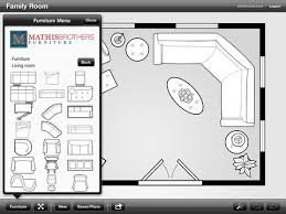 Room Planner Ipad mathis brothers room planner on the app store