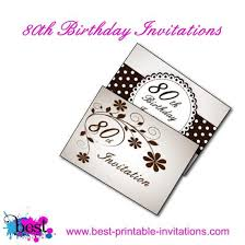 Printable 80th Birthday Cards Magdalene Project Org