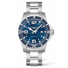 men s watches designer and swiss watches ernest jones longines hydroconquest men s stainless steel bracelet watch product number 5011779