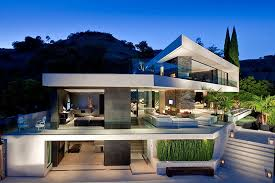 modern architecture house wallpaper. Popular Cool Modern Architecture And Hollywood Mansion Openhouse By XTEN House Wallpaper