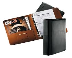 2 3 ring leather binder covers