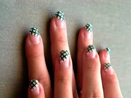 Nail Designs : Hand Painted Nail Art Designs Getting Easy Hand ...