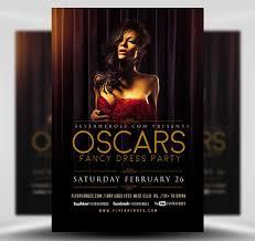 Fancy Flyers Oscars Fancy Dress Party Flyer Template Flyerheroes