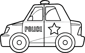 Basic Police Coloring Book W1499 Policeman Coloring Page Police