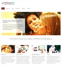 makeup artist portfolio template 9 best cosmetics themes boutiques salons