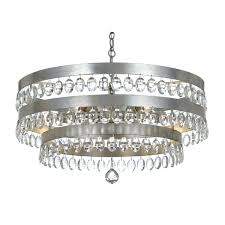 antique silver chandelier in gold by lighting connection mini