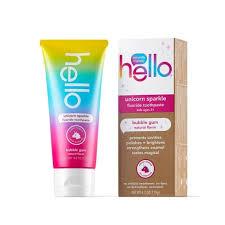 <b>Hello</b> Kid's <b>Unicorn</b> Sparkle Fluoride Toothpaste SLS Free + Vegan ...