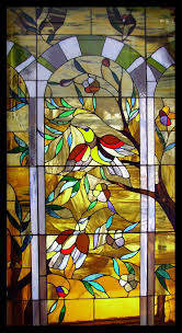 facotry supply church double glass mosaic art window