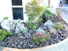 rockery designs for small gardens garden rock ideas corner sma