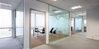 fice glass windows mercial glazing glass partitions window glass office doors