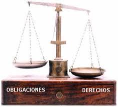 Resultado de imagen de obligaciones y derechos