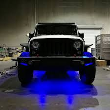 Jeep Jl Led Lights Blue Led Under Body Lights For Jeep Wrangler Jeep Wrangler